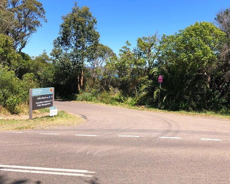 Collins Beach signpost