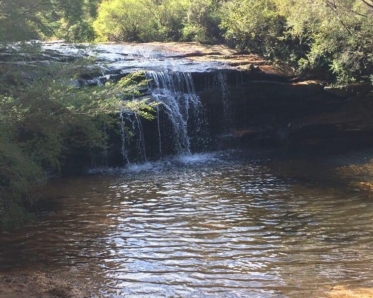 Jamison Creek waterfall