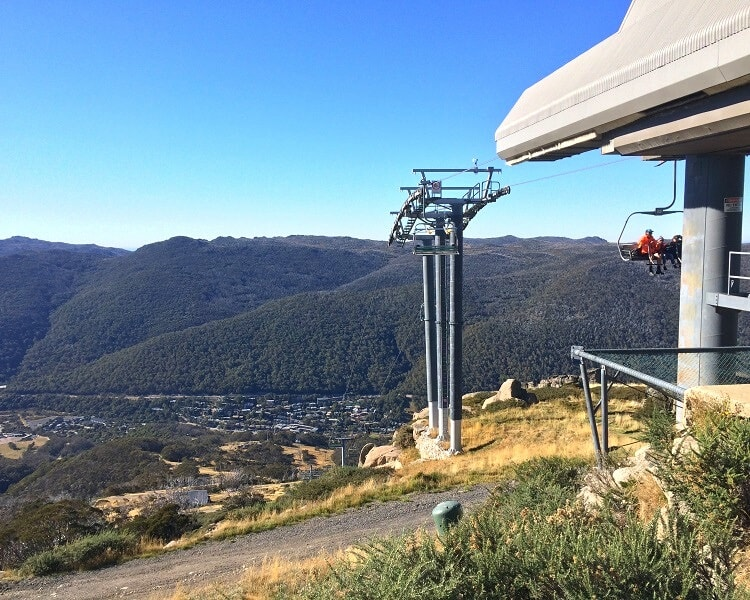 Kosciuszko Express Chairlift in Thredbo