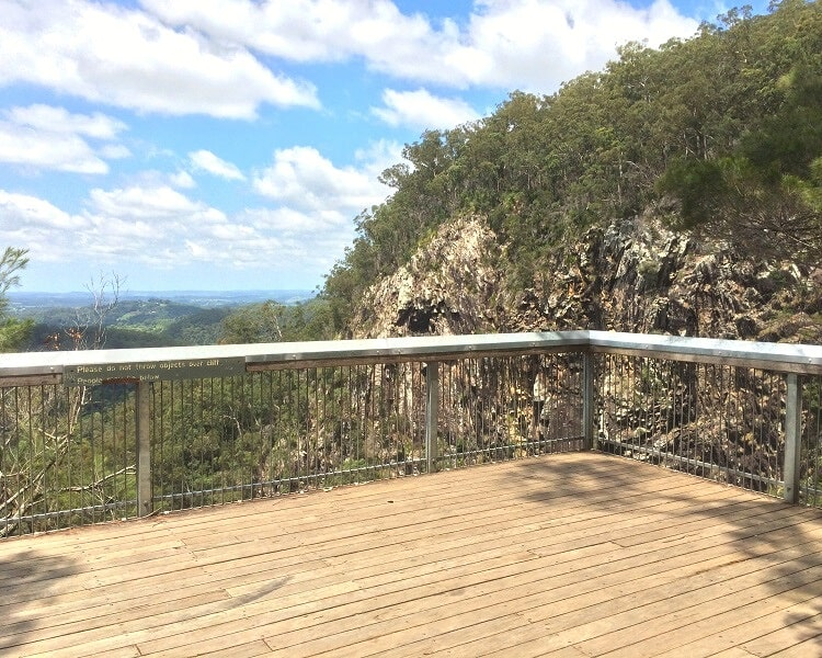 Minyon Falls lookout platform
