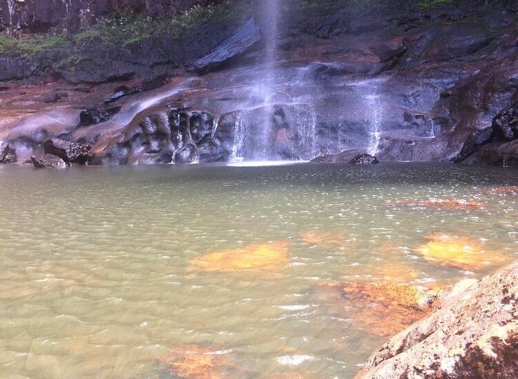 Pool at the base of Minyon Falls