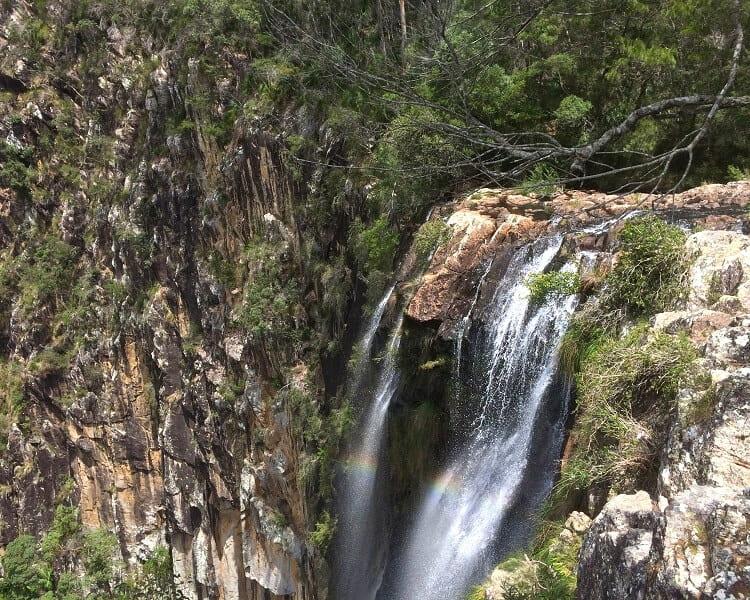 Top of Minyon Falls