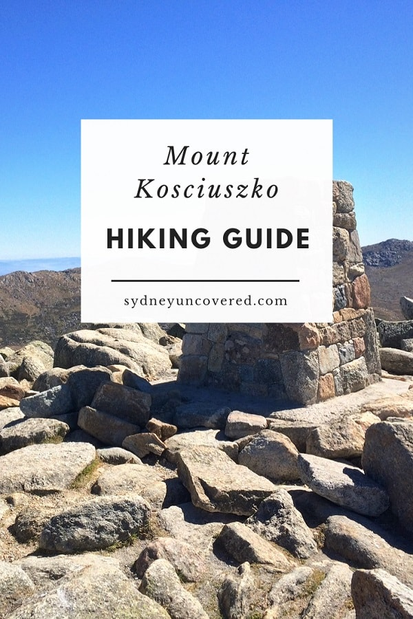Mount Kosciuszko hiking guide