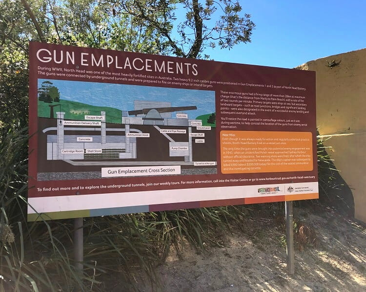 Gun Emplacements on North Head