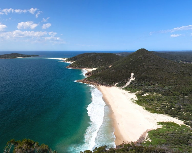 Port Stephens in the Hunter region