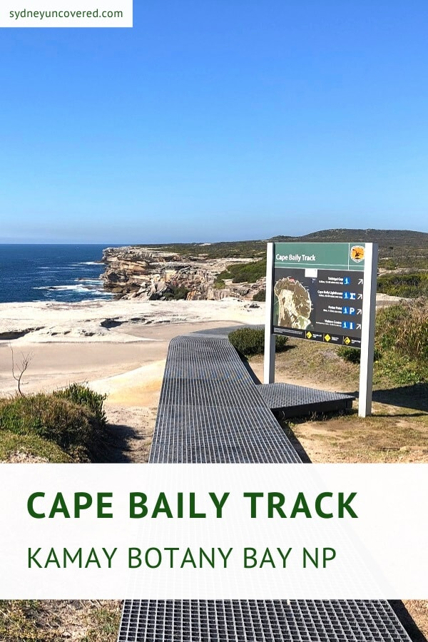 Cape Baily Track in Kamay Botany Bay National Park