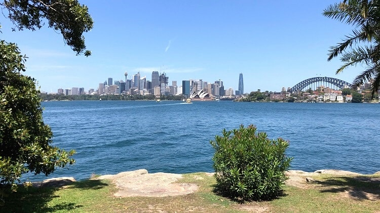 Cremorne Point circuit walk