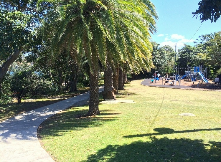 Playground at Robertsons Point