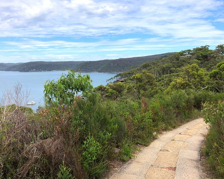 Access Trail to the Barrenjoey Lighthouse