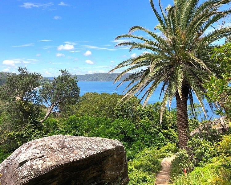 Smugglers Track to the Barrenjoey Lighthouse