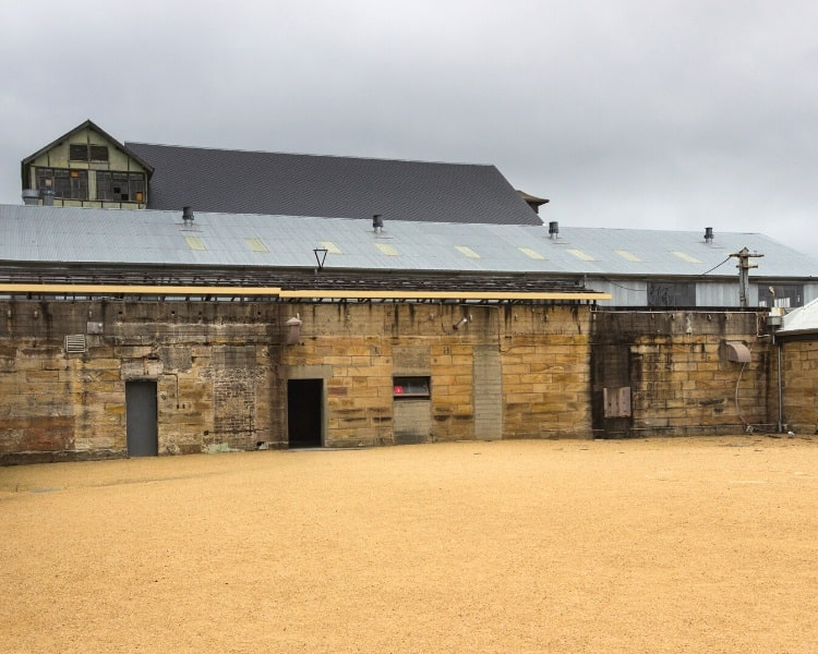 Convict Precinct on Cockatoo Island