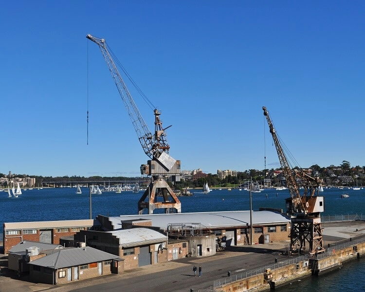 Docks Precinct on Cockatoo Island