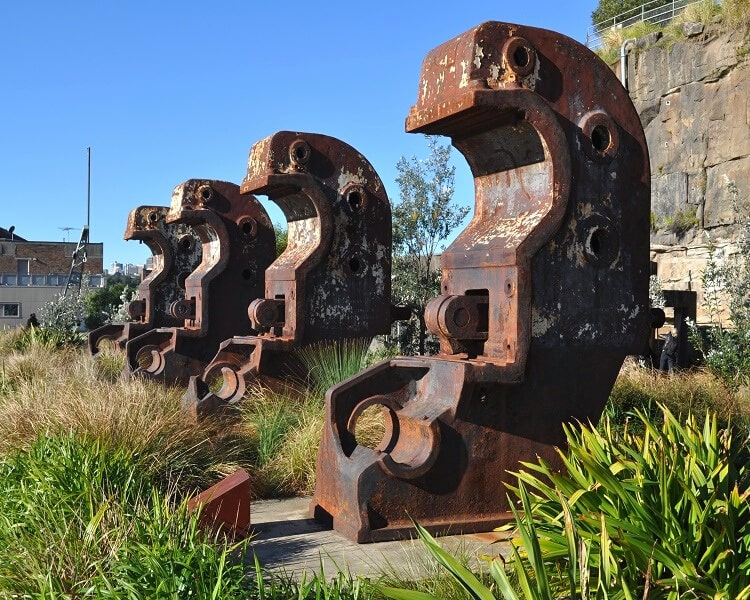 Cockatoo Island has a long and rich history