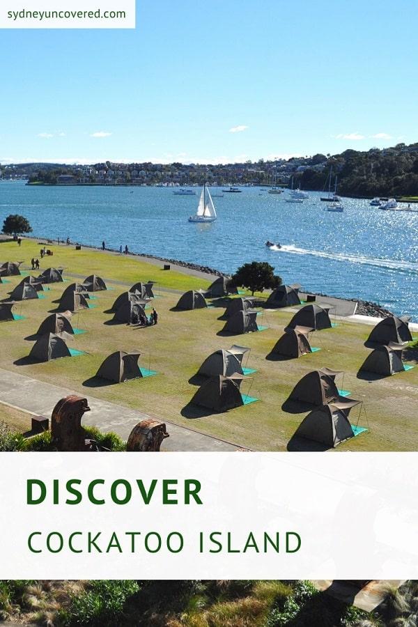 Visit Cockatoo Island in Sydney Harbour