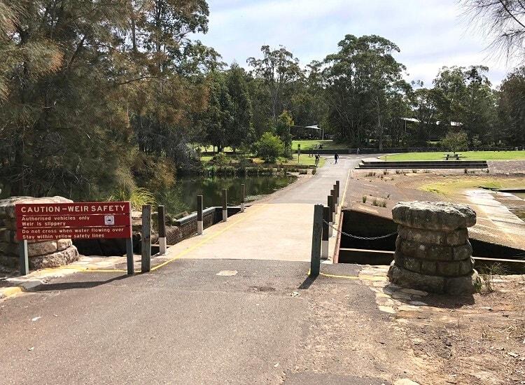 Lane Cove Weir