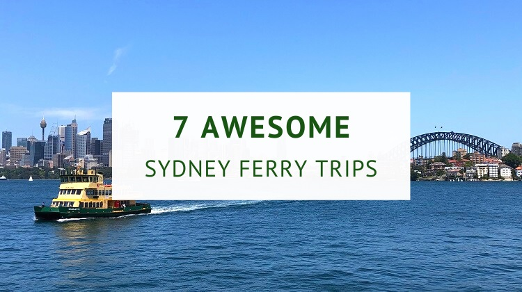 Sydney Harbour ferry trips