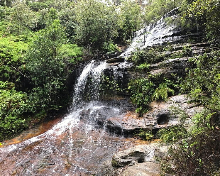 Cataract Falls in South Lawson