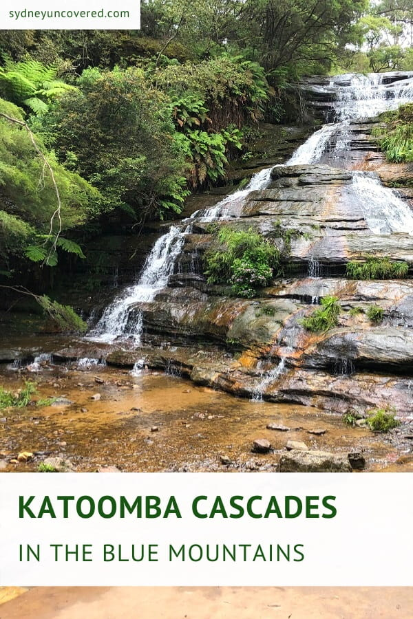 Katoomba Cascades in the Blue Mountains