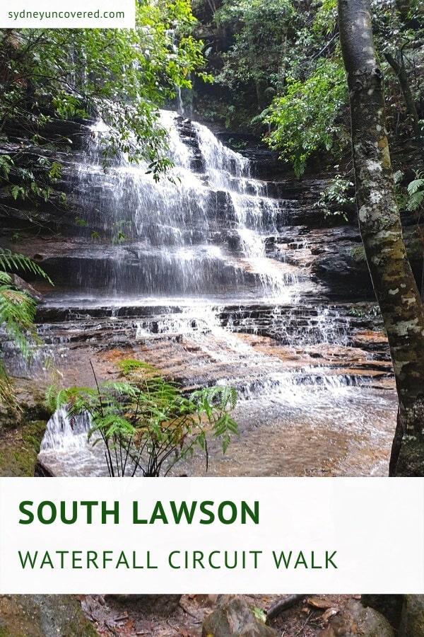 South Lawson waterfall circuit walk