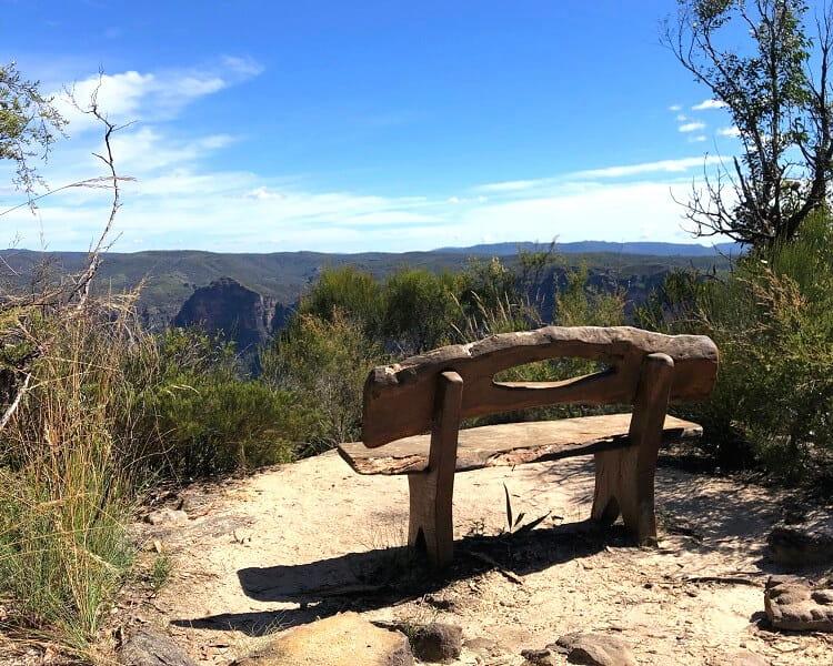Bench at Anvil Rock
