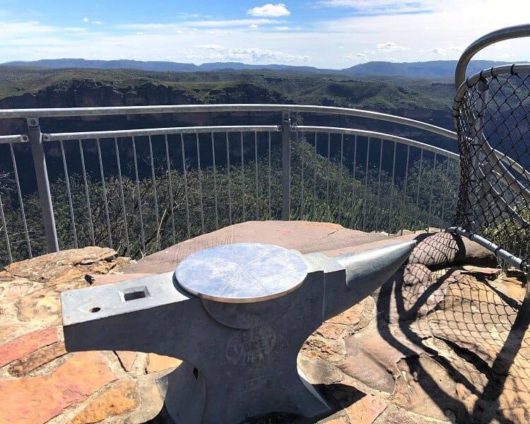 Top of Anvil Rock