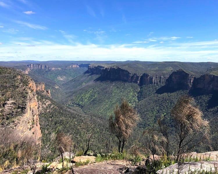 Panoramic views from Anvil Rock