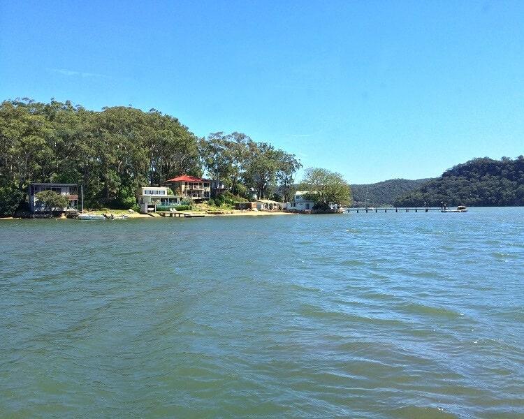 Dangar Island on the Hawkesbury River