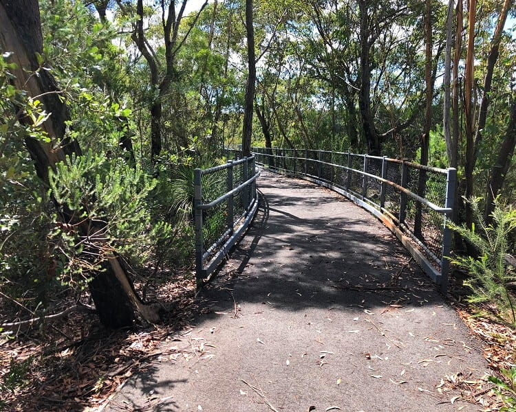 Boardwalk to the O'Hares Creek Lookout