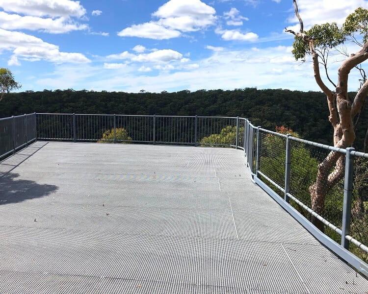 O'Hares Creek Lookout platform