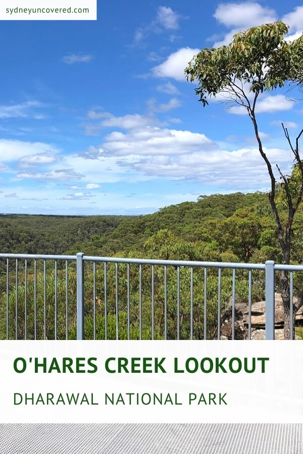 O'Hares Creek Lookout and walking track