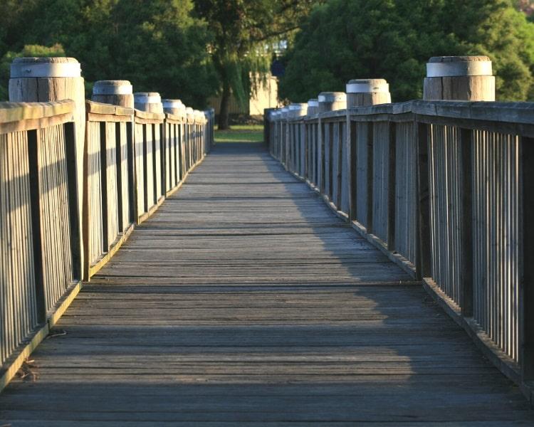 Bridge over Cooks River