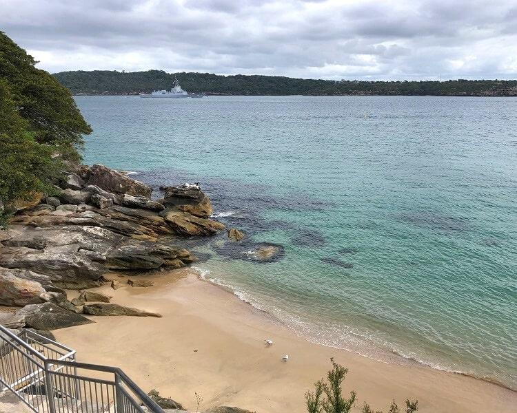 Lady Bay Beach in Watsons Bay