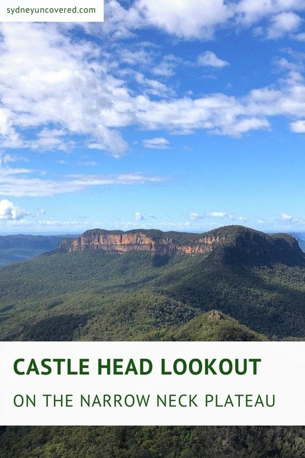 Narrow Neck to Castle Head walking track