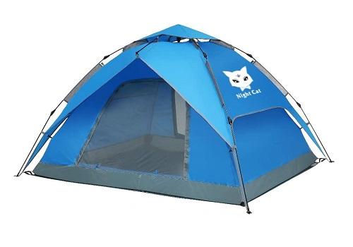 Night Cat Waterproof Beach Tent