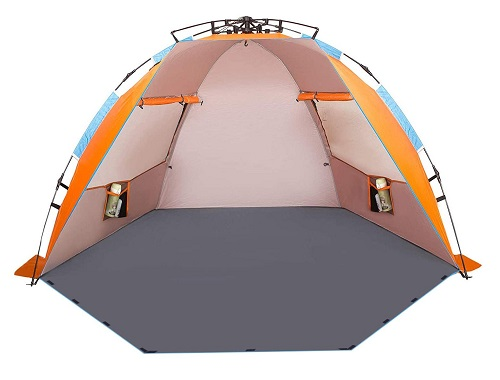 Oileus X-Large 4 Person Beach Tent