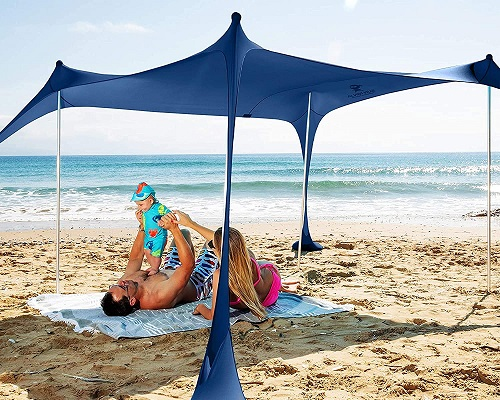 Sun Ninja Pop Up Beach Shelter