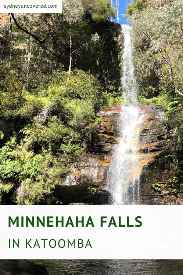 Minnehaha Falls in Katoomba