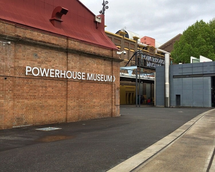 Powerhouse Museum in Sydney