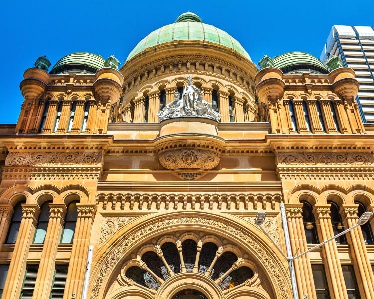 Queen Victoria Building in Sydney