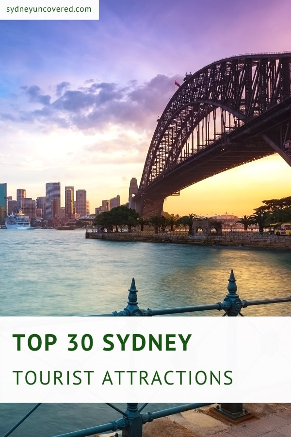 Top tourist attractions in Sydney