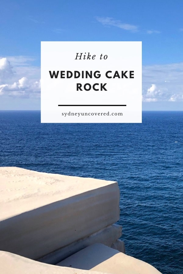 Bundeena to Wedding Cake Rock walking track