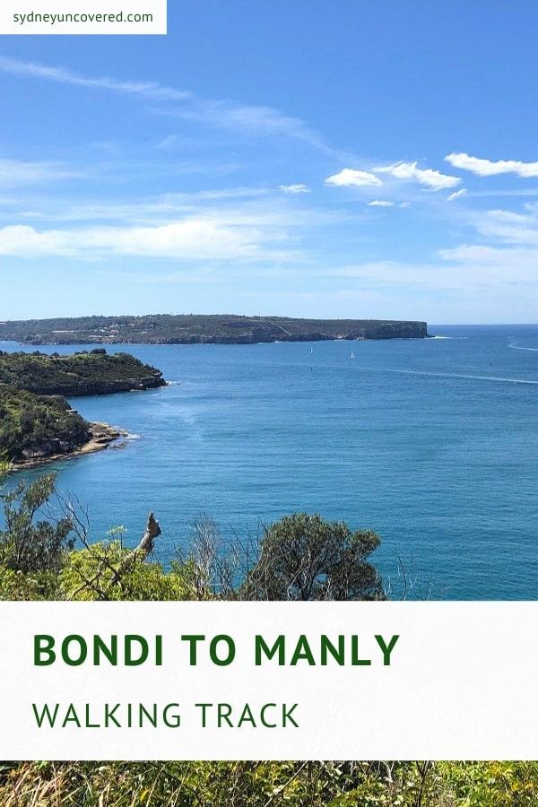 Bondi to Manly walking track