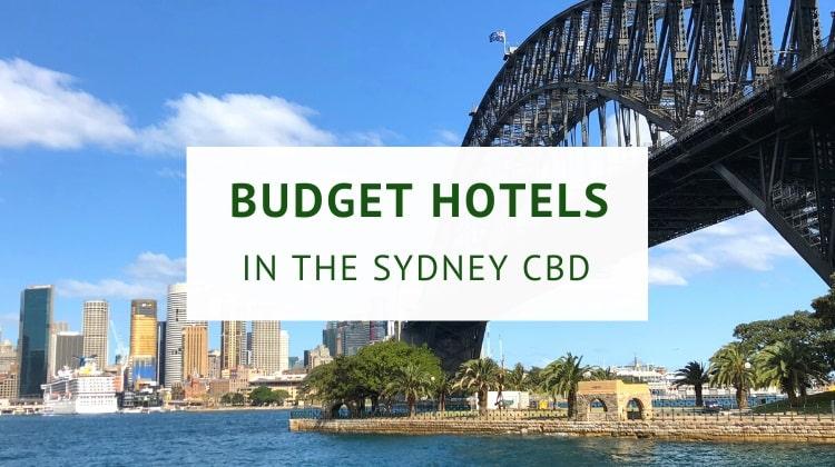 Best budget hotels in Sydney CBD