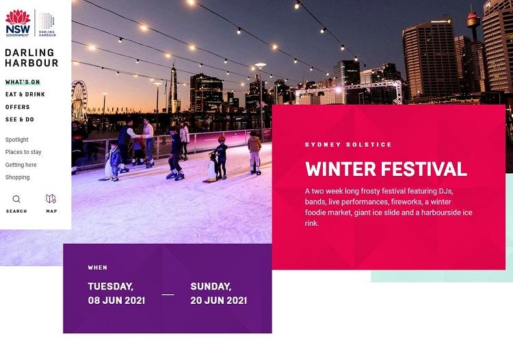Darling Harbour Winter Festival