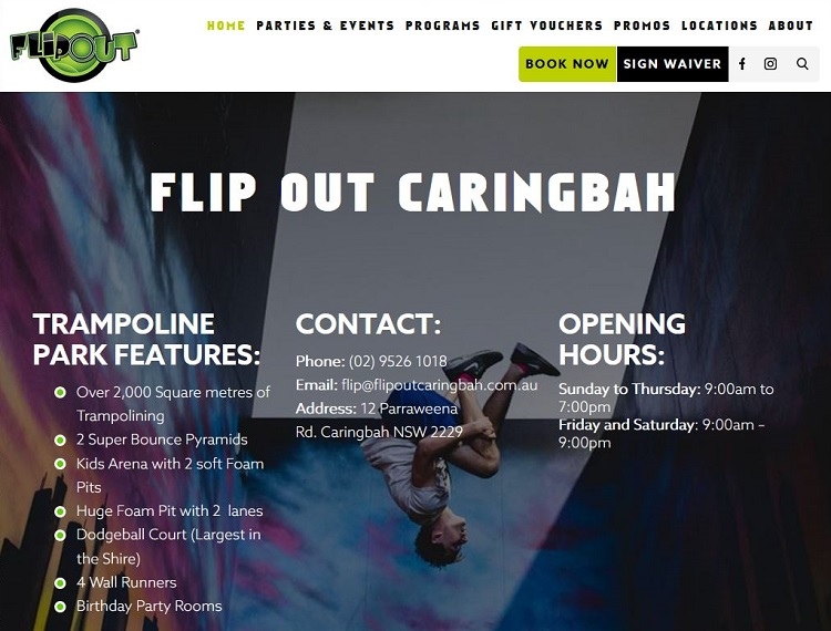 Flip Out Caringbah