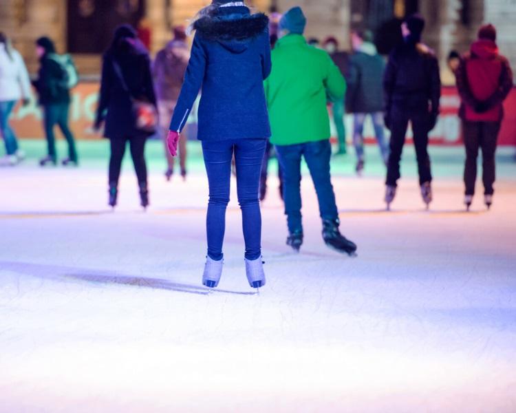 Indoor ice skating rink