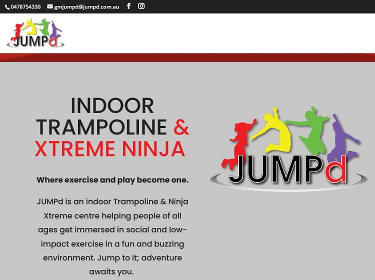 JUMPd Brookvale indoor trampoline park