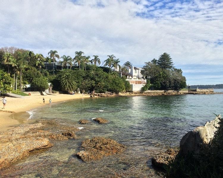 Kutti Beach in Vaucluse