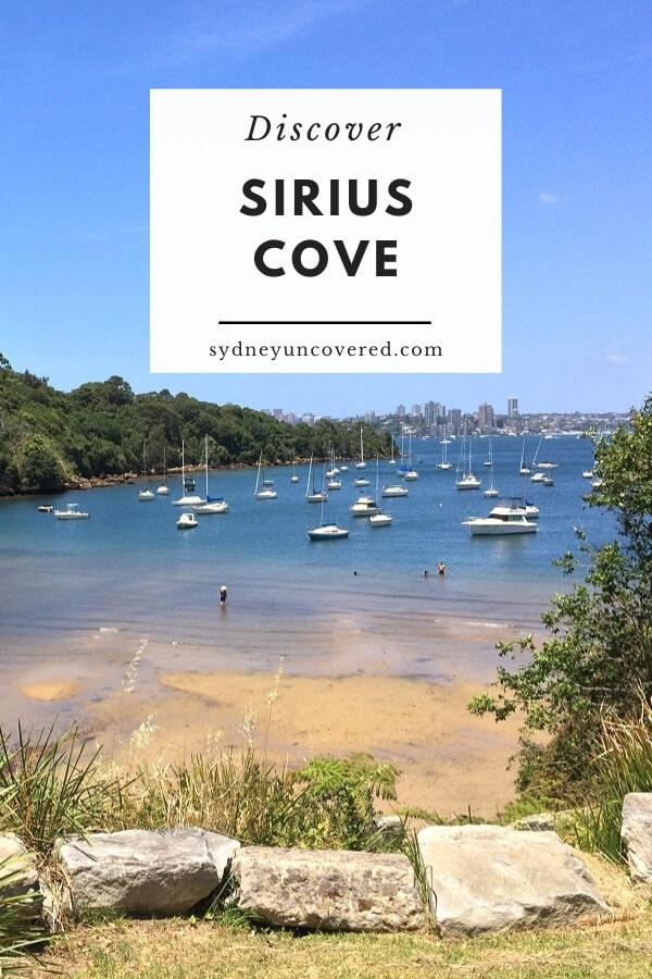 Sirius Cove Reserve in Mosman