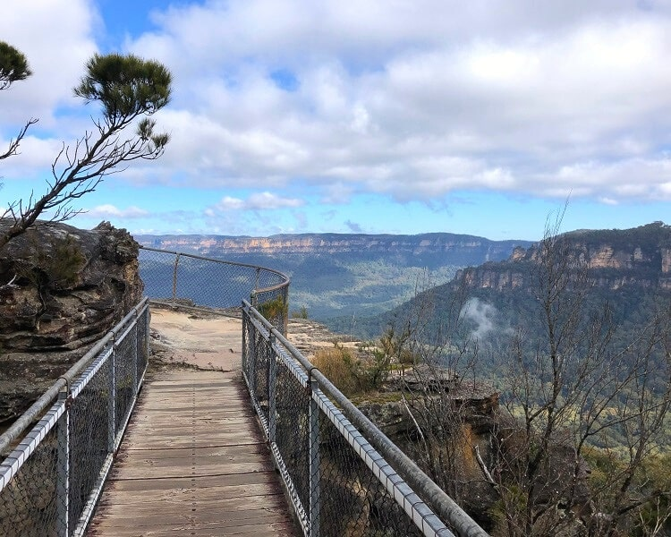 Footbridge to Sublime Point Lookout
